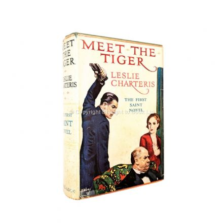 Meet The Tiger Leslie Charteris Early Reprint Ward Lock & Co c.1929